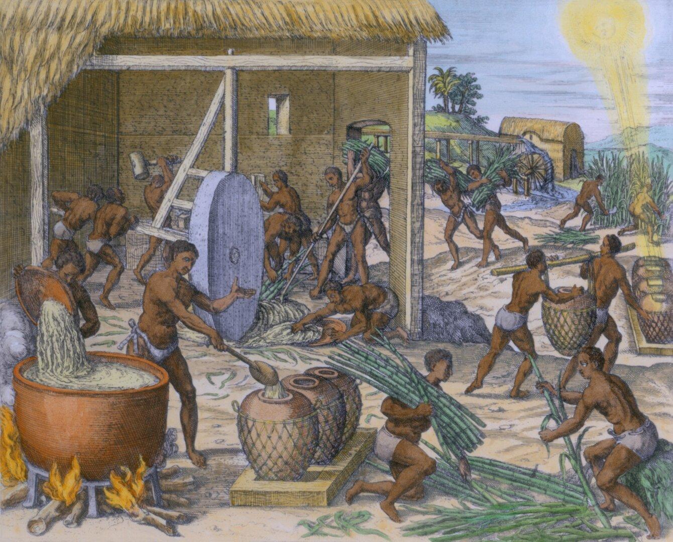 vergų prekybos tarptautinė sistema