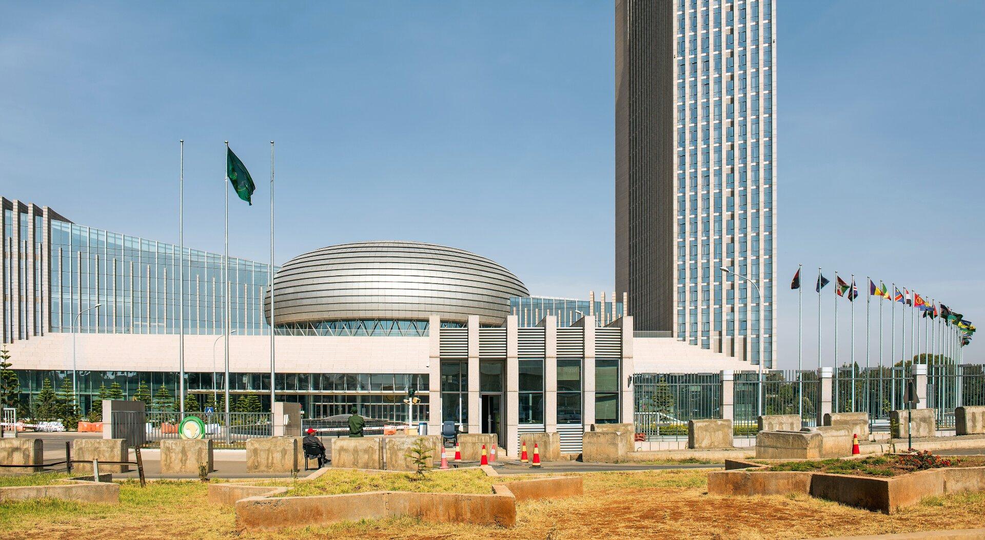 visos afrikos prekybos centro sistema