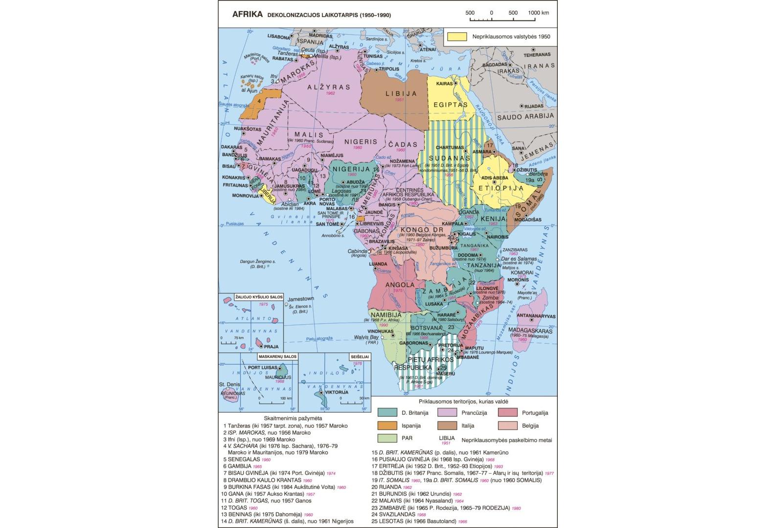 Afrikos valstybių problemos: kolonijinis palikimas ar vidinė afrikiečių problema?